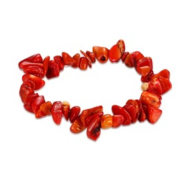 Ericdress Vivid Red Stone Women's Bracelet