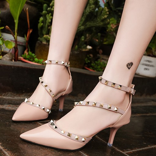 Ericdress Stiletto Heel Thread Line-Style Buckle 6cm Thin Women's Shoes