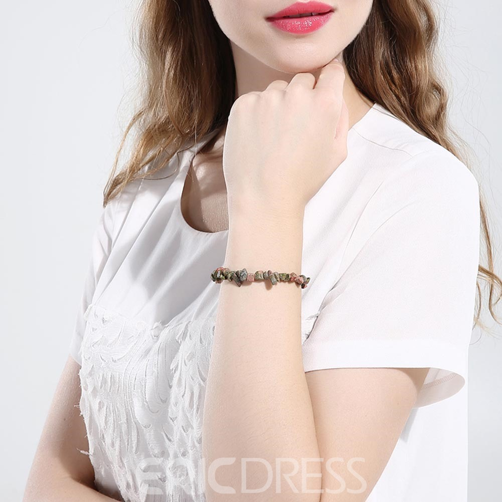 Ericdress Natural Leisure Women's Stone Bracelet