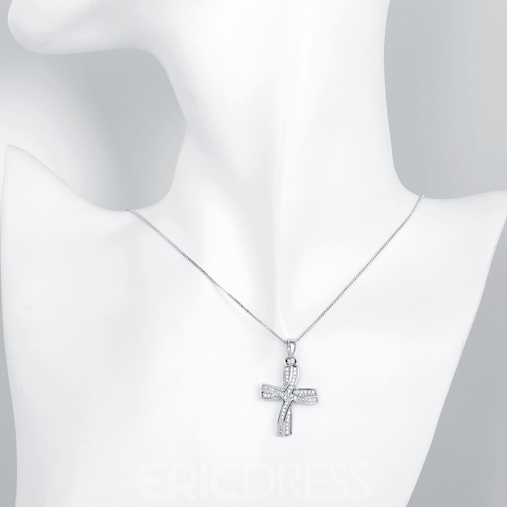 Ericdress Personality Cross Pendant Necklace