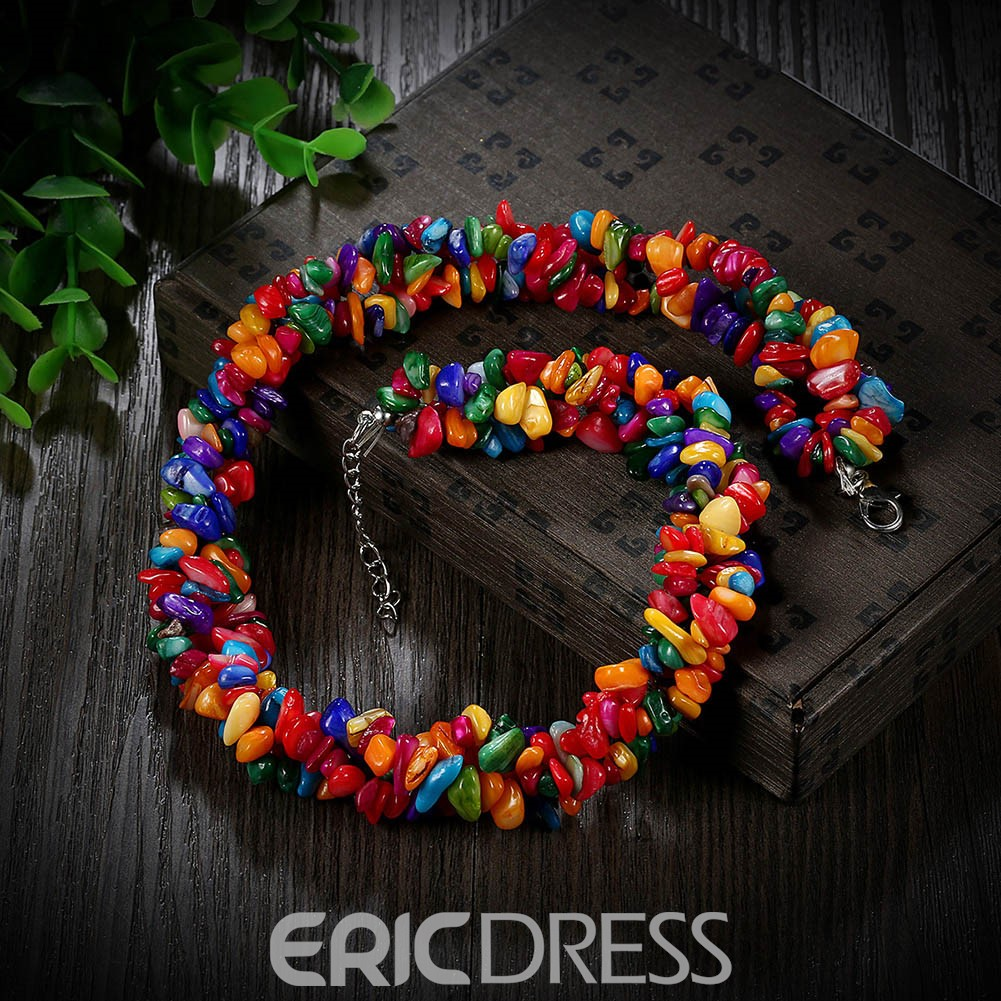 Ericdress Wonderful Stones Necklace for Women