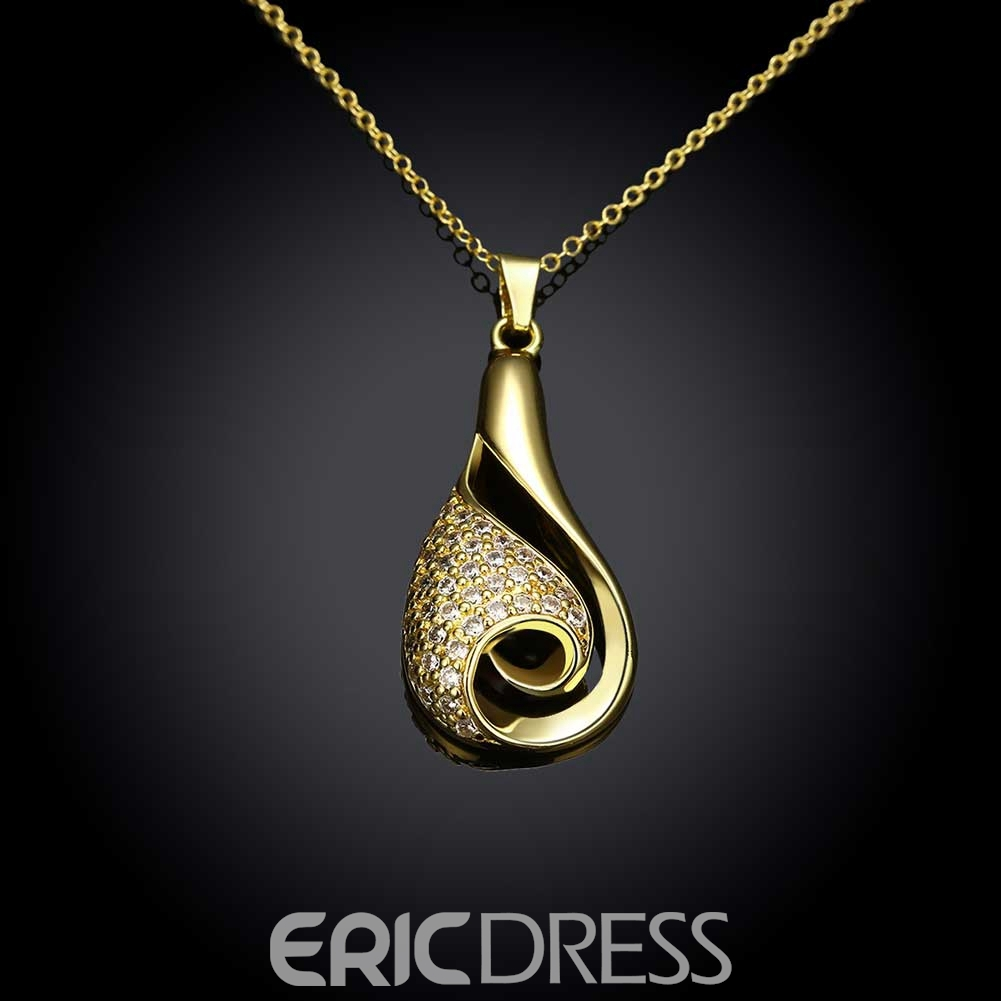Ericdress Creative Aquarius Pendant Necklace for Women