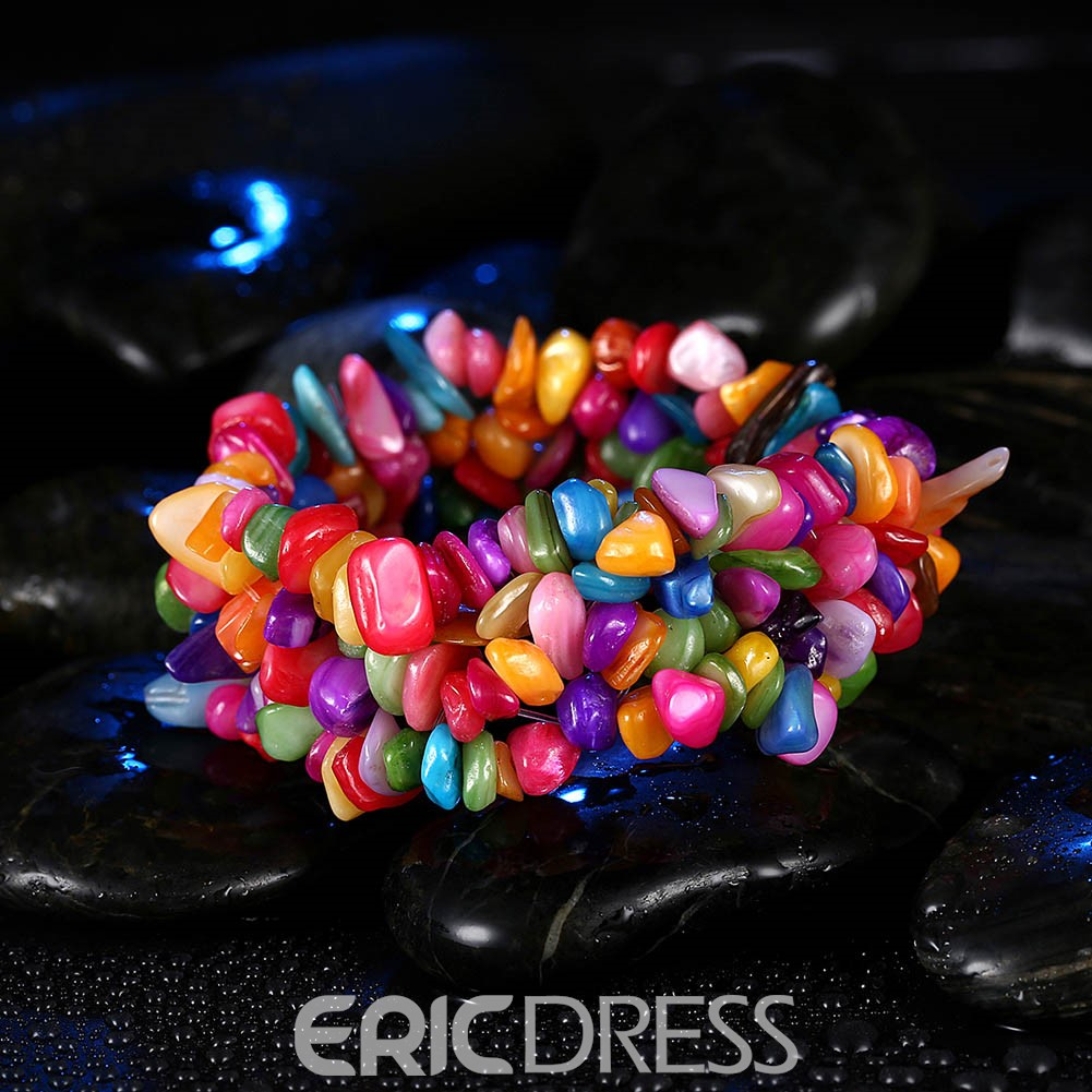 Ericdress Amazing Colored Stone Women's Bracelet