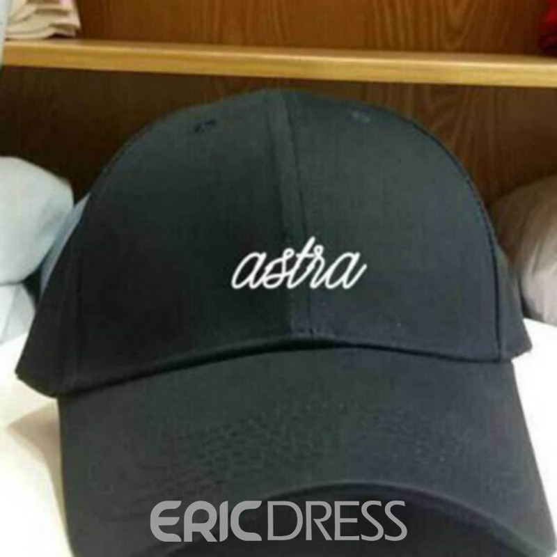 Ericdress Cotton Embroidery Spring Plain Hats