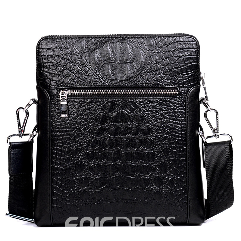 Ericdress PU Alligator Embossing Men's Tote Bags