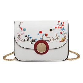 Ericdress Ladylike Thread Embroidery Crossbody Bag