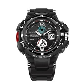 Ericdress SANDA Brand Outdoor Sports Men's Watch Display 30 Meters Waterproof