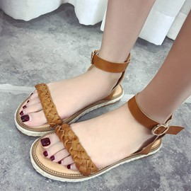 Ericdress Fashion Kintting Flat Sandals