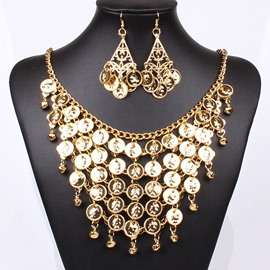 Ericdress Splendid Gold Plated Jewelry Set