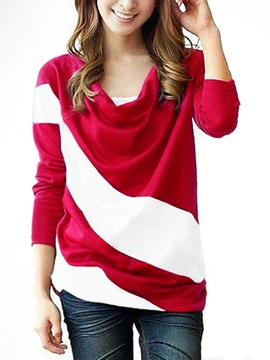 Glamorous Leisure Split Joint Long Sleeves T-shirt