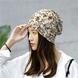 Ericdress Trendy Floral Print Lace Summer Fashion Hat