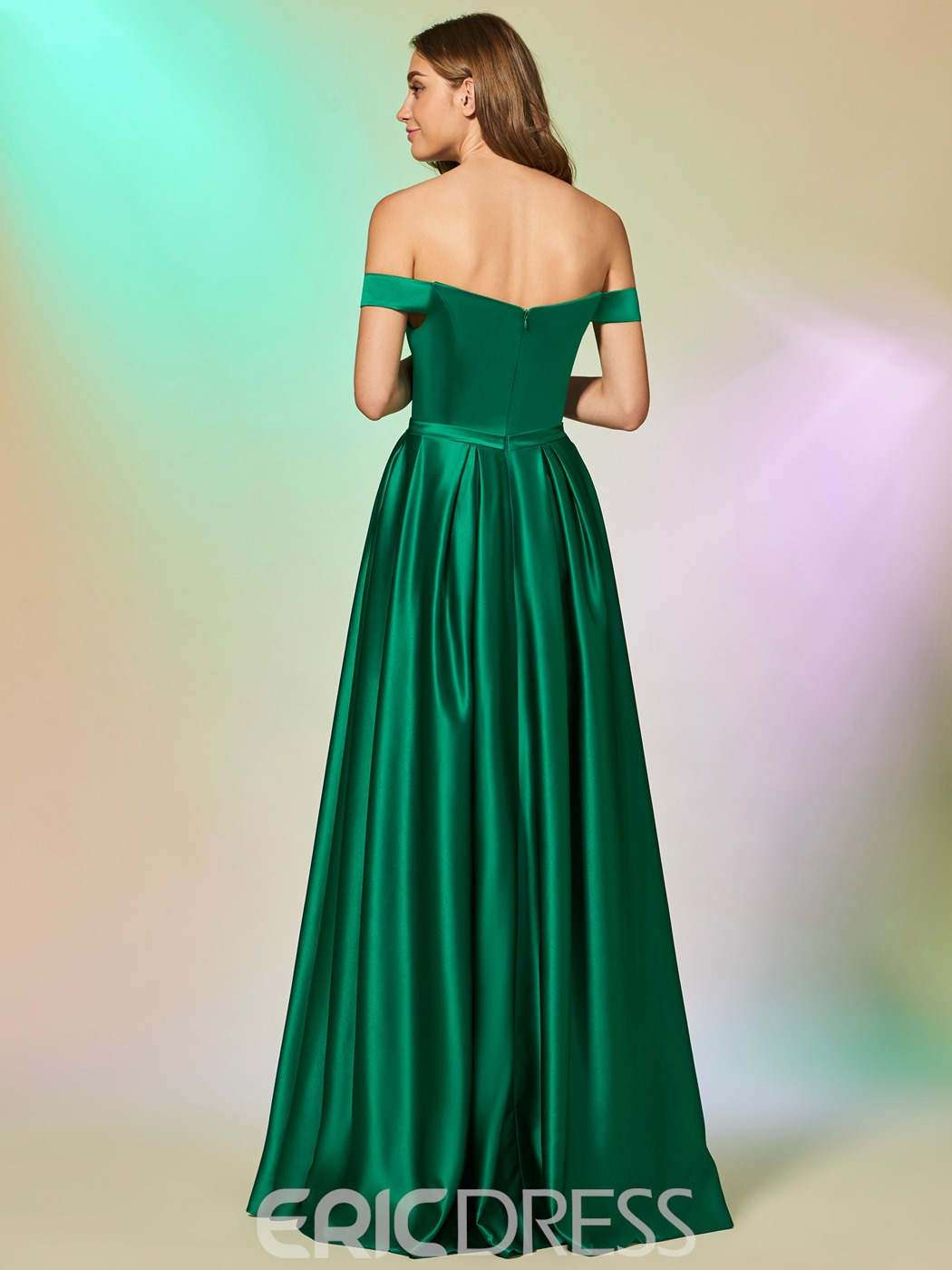 Ericdress A Line Off The Shoulder Long Prom Dress