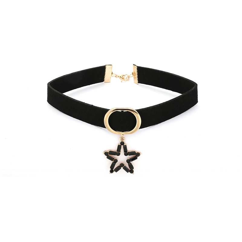 Ericdress Stylish Star Pendant Black Choker