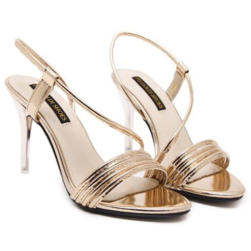 Ericdress Summer Slim Strap Stiletto Sandals