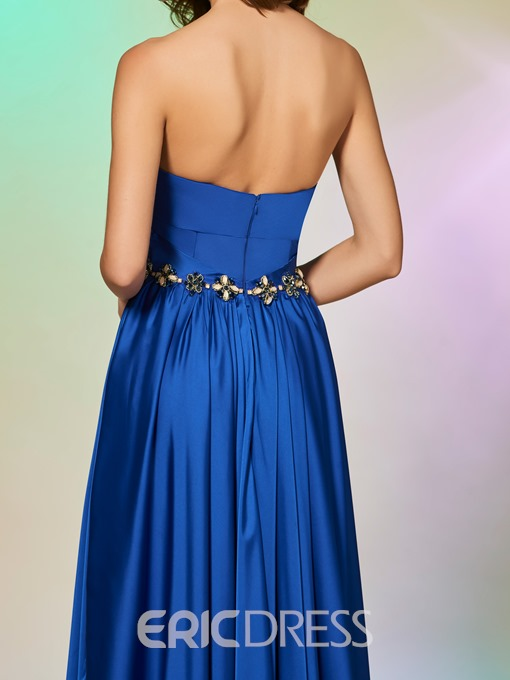 Ericdress A Line Sweetheart Long Prom Dress With Beadings