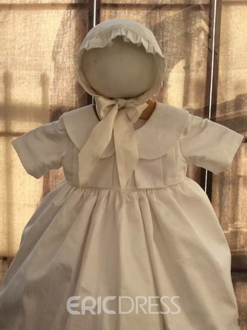 Ericdress Baby Girls Baptism Adorable Christening Gown with Bonnet