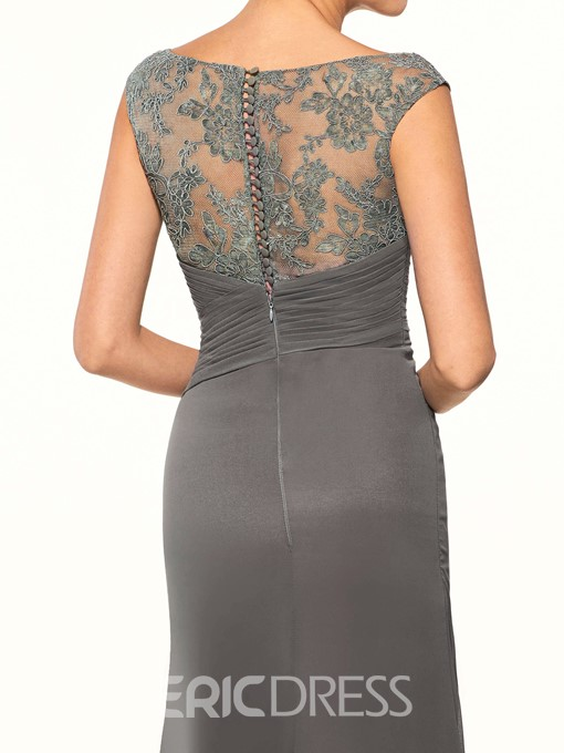 Ericdress Long Lace Mother of the Bride Dress