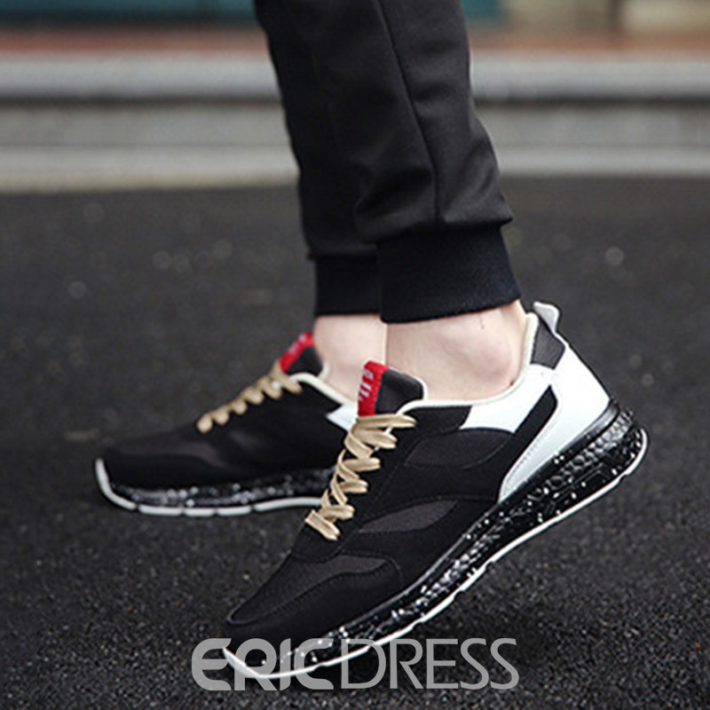 Ericdress Cozy Patchwork Men's Athletic Shoes