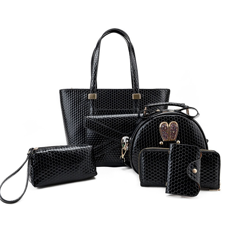 Ericdress European Football Embossed Handbags (6 Bags)
