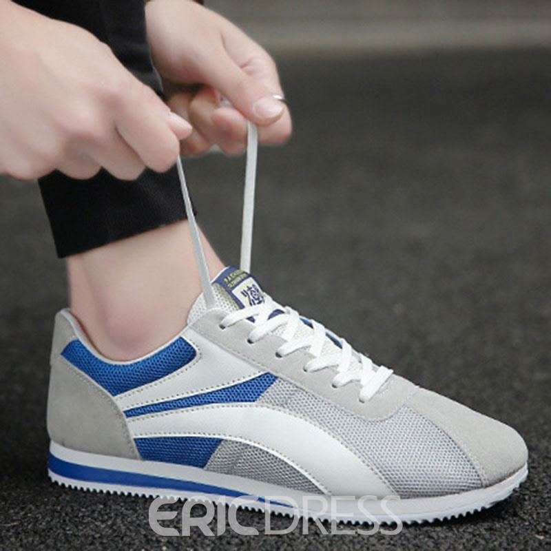 Ericdress Mesh Thread Round Toe Men's Athletic Shoes