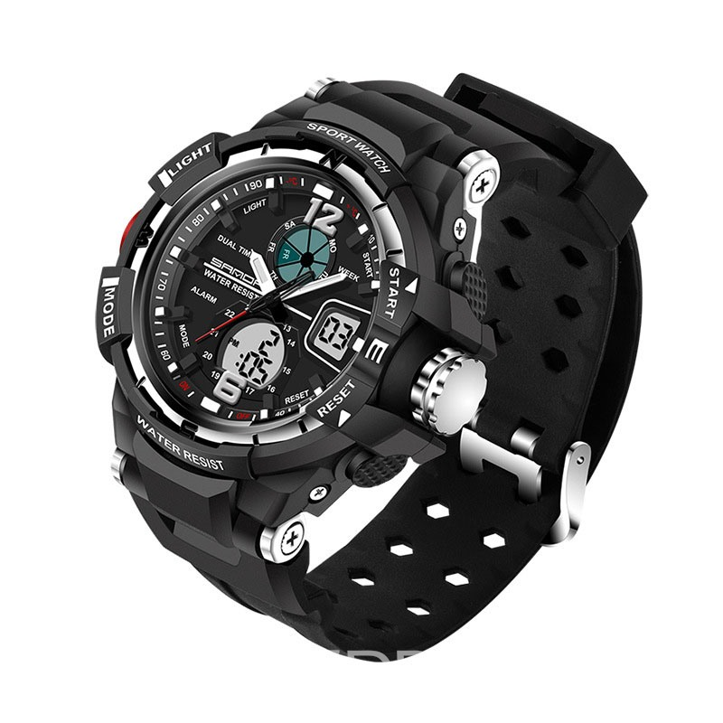 Ericdress JYY SANDA Brand Outdoor Sports Men's Watch Display 30 Meters Waterproof