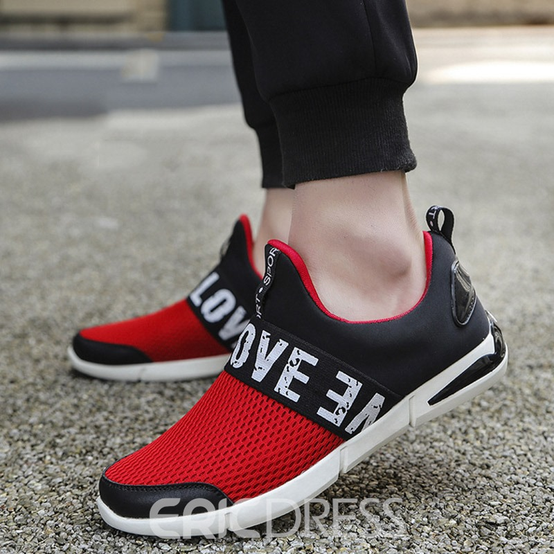 Ericdress Summer Breathable Mesh Patchwork Men's Sneakers
