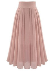 Ericdress Broomstick Chiffon Expansion Pleated Ankle-Length Womens Skirt