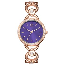 Ericdress Personality Diamante Case Women's Watch