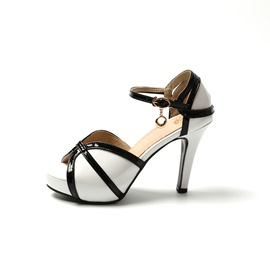 Ericdress Princess Color Block Stiletto Sandals