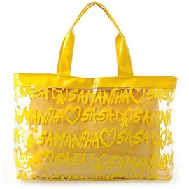 Ericdress Letter Design Plastic Tote Bag