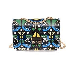 Ericdress Cool Geometric Print Shoulder Bag