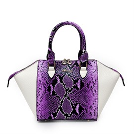 Ericdress Classic Serpentine Pattern Wing Handbag