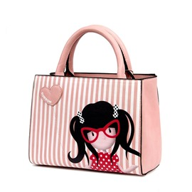 Ericdress Korea Style Cartoon Printing Handbag