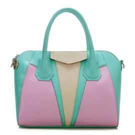 Ericdress Stylish Color Collocation Handbag