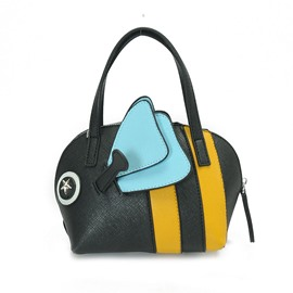 Ericdress Concise Color Block Bee Shell Handbag