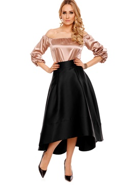Ericdress Ankle-Length Plain Women's Skirt