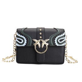 Ericdress European Metal Bird Decorated Shoulder Bag