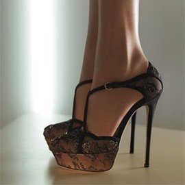 Ericdress Lace Platform Stiletto Heel Pumps