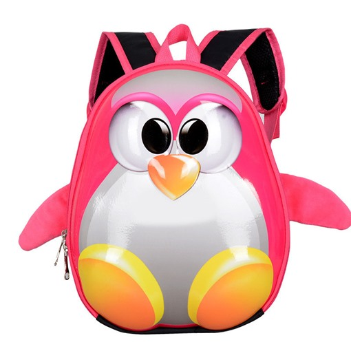 Ericdress 3D Penguins Waterproof Backpack