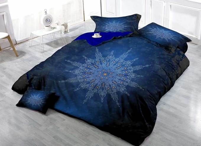 3D Medallion Printed Cotton 4-Piece Bedding Sets/Duvet Covers