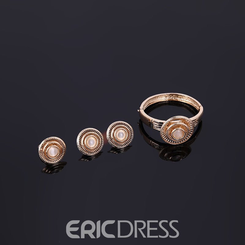 Ericdress Luxurious Gold Plating Jewelry Set