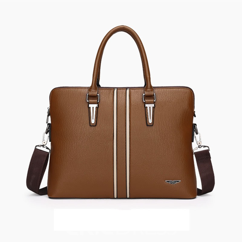 Ericdress Versatile Men's Business Handbag(2 Bags)