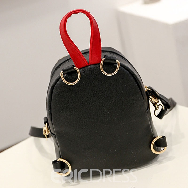 Ericdress Personality Contrast Color Backpack
