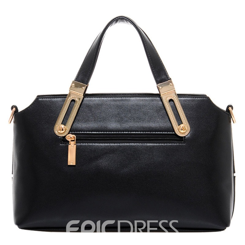 Ericdress Occident Style Patchwork Handbag