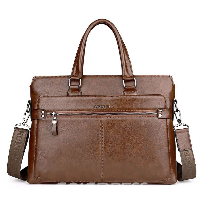 Ericdress Large-capacity Men's Business Handbag
