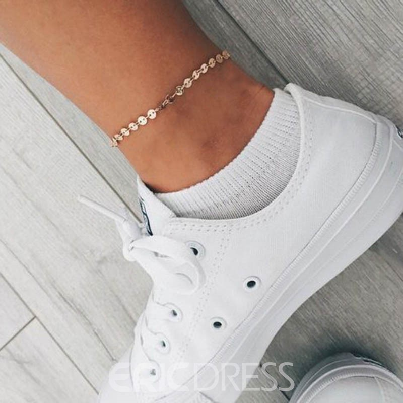 Ericdress All Match Paillette Brief Anklet for Women