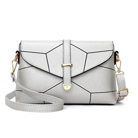 Ericdress Simple Color Block Crossbody Bag