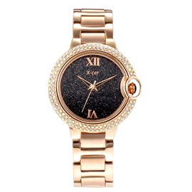 Ericdress Rose Gold Starry Sky Series Watch for Women
