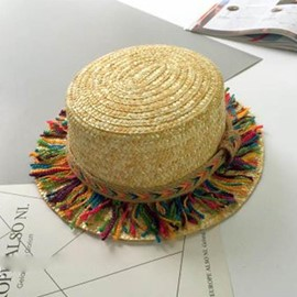 Ericdress Straw Plaited Article Sun Hat for Women