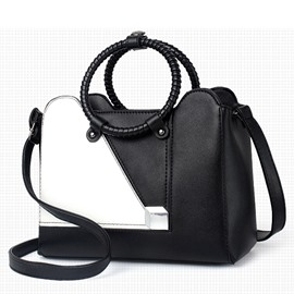 Ericdress Vogue Color Block Hangbag